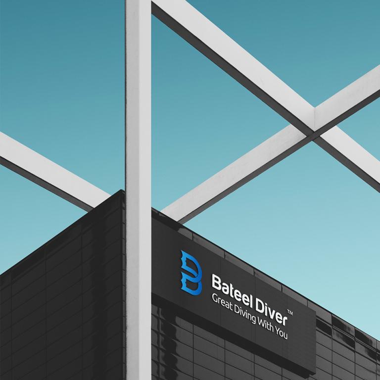 BateelDiver – Diving Center Branding