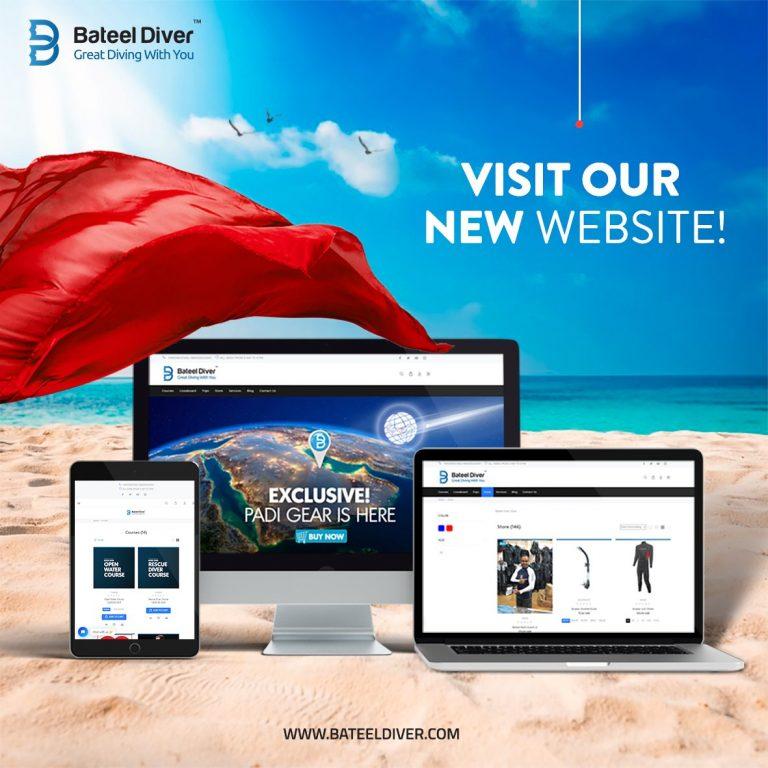 BateelDiver – Dive Center Social Media