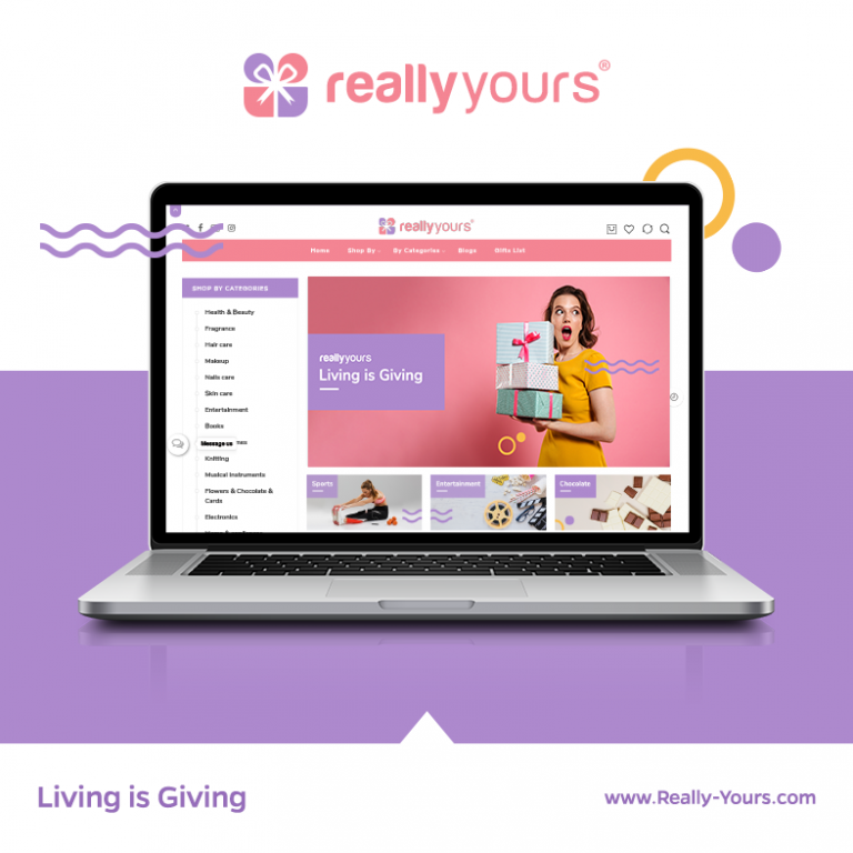 Really Yours – Gift Online Store eCommerce Website
