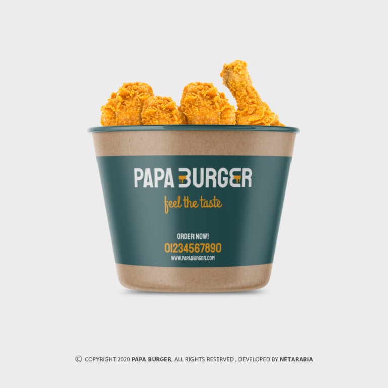 Papa Burger – Restaurant Branding